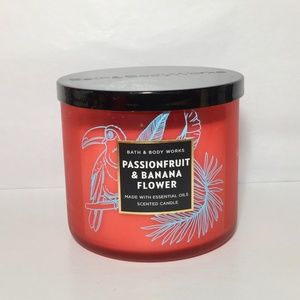 PASSIONFRUIT & BANANA FLOWER 3-Wick Candle